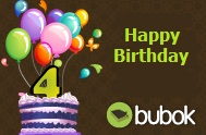 Happy 4th Anniversary! – Bubok Celebrates Birthday