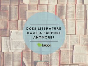Does literature have a purpose anymore?