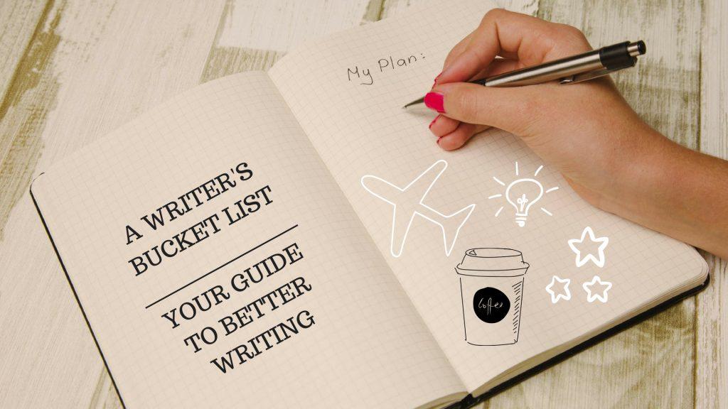 A Writer's Bucket List