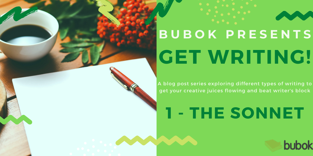 Bubok presents: Get writing: the sonnet