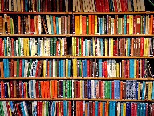 Libros y vendedores