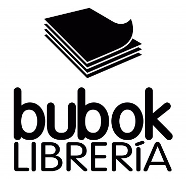 Bookstore logo in black and white