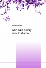 who said poetry should rhyme