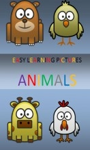Libro EASY LEARNING PICTURES. ANIMALS., autor pixels