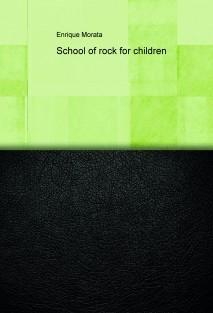 School of rock for children