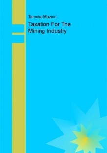 Taxation For The Mining Industry