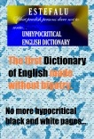 English Dictionary Estefalu