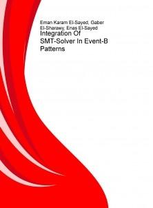 Integration Of SMT-Solver In Event-B Patterns