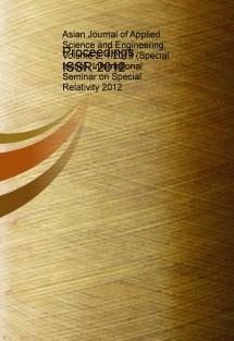 Proceedings ISSR-2012