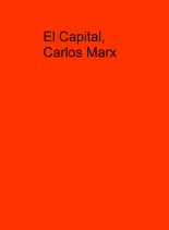 El Capital, Carlos Marx