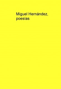 Miguel Hernández, poesías