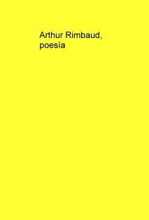 Arthur Rimbaud, poesía