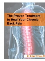 Libro The Proven Treatment to Heal Your Chronic Back Pain, autor Edgar Ortega Maldonado