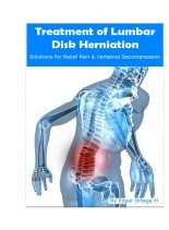 Libro Treatment of Lumbar Disk Herniation, autor Edgar Ortega Maldonado
