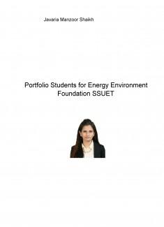 Portfolio Students for Energy Environment Foundation SSUET