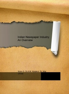 Indian Newspaper Industry An Overview