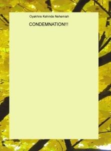 CONDEMNATION!!!
