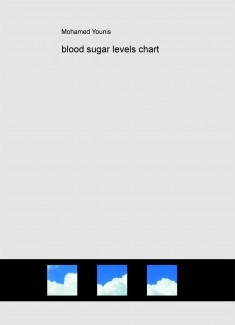 blood sugar levels chart