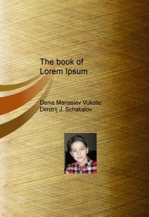 The book of Lorem Ipsum