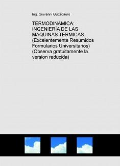 INGENIERÍA DE LAS MAQUINAS TERMICAS (Teoria) (Descarga gratuitamente la version reducida)