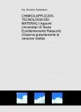 CHIMICA APPLICATA E TECNOLOGIA DEI MATERIALI (Teoria) (Descarga gratuitamente la versione ridotta)