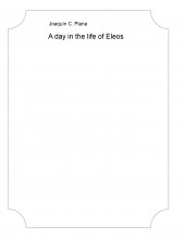 Libro A day in the life of Eleos, autor JCPA16